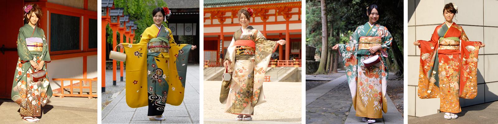 京都振袖レンタル「古典柄にこだわった振袖」