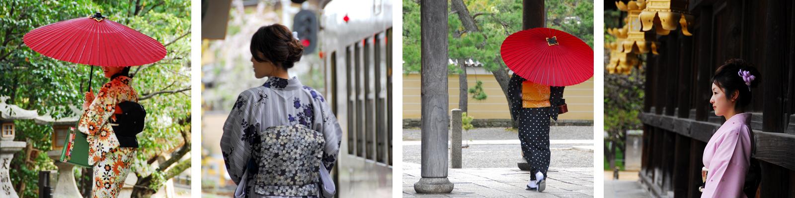 上質なレンタル着物が似合う素敵な京都の風景