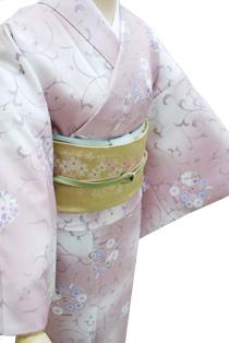 レンタル着物「小桜唐草」