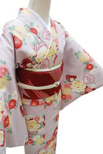 レンタル着物「レトロ小菊」