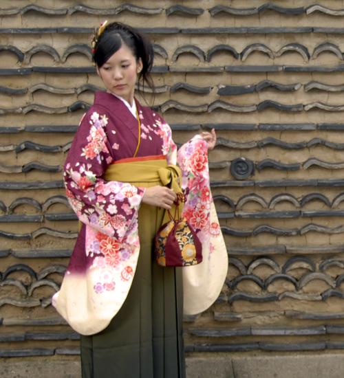 レトロな雰囲気の袴レンタル