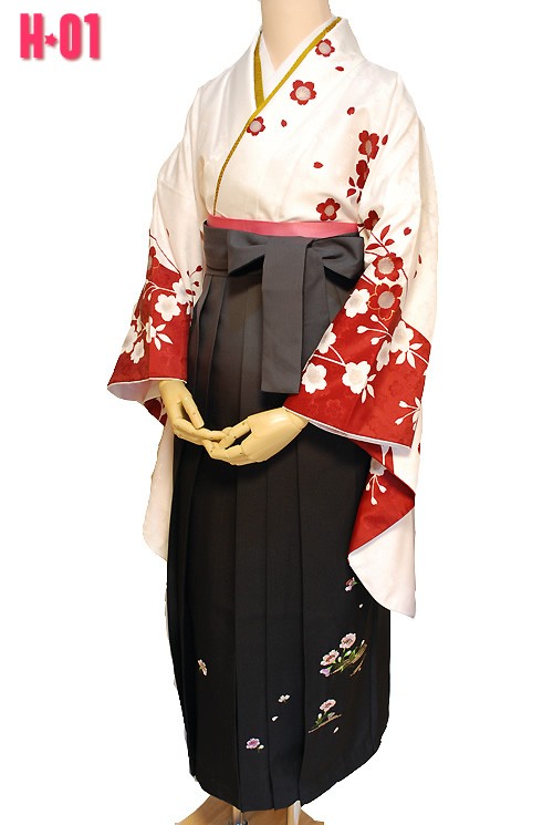 卒業式袴セットH-01